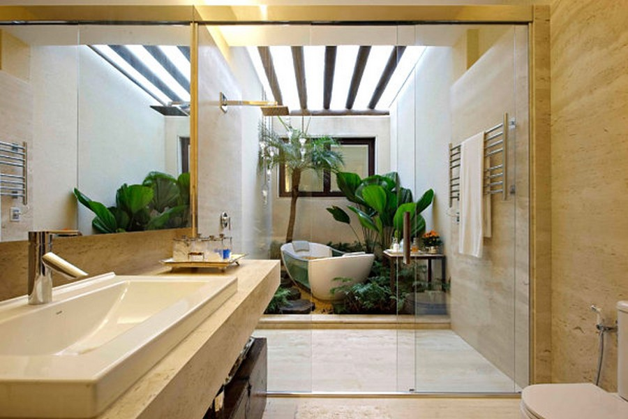 Indoor gardening bathroom as a garden gardening better for Indoor gardening design