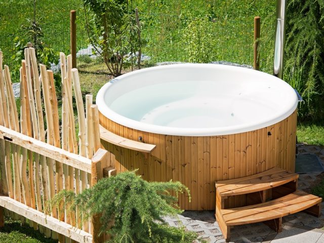 Enjoy Your Garden Even More with a Hot Tub